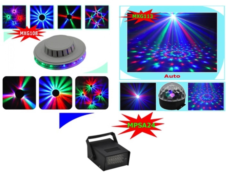 Led disco set