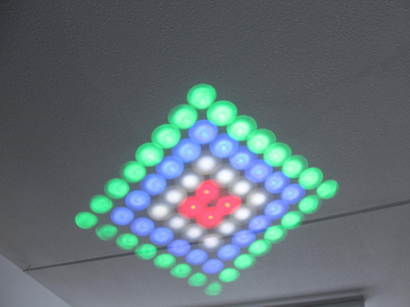 Led matrix moonflower