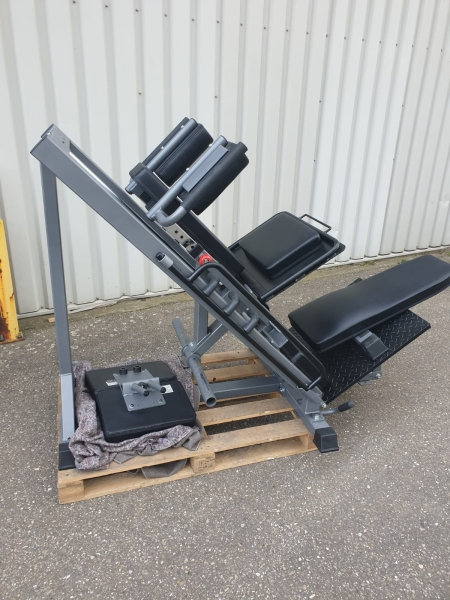 Legpress hack squat combi