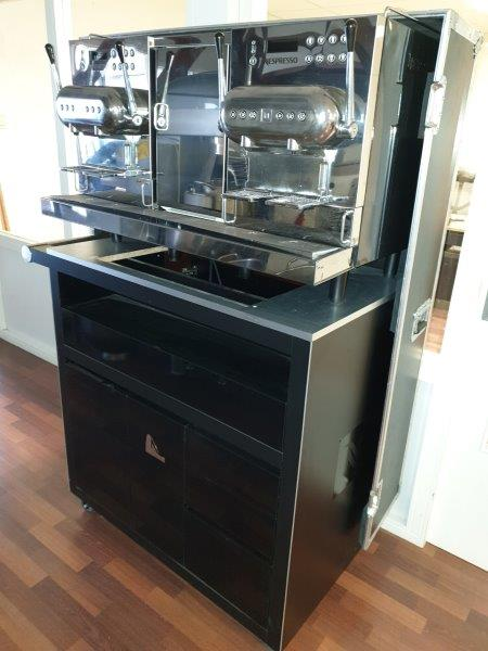 Nespresso professional coffee machine