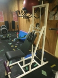 Overhead triceps machine