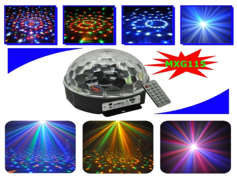 led astro mp3 discobal